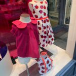 Window Display With Colour Retail