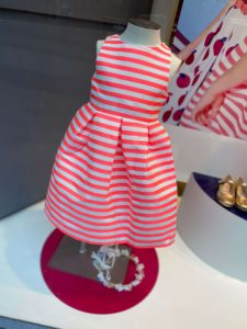 Retail colour in children's clothing